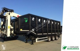 Félpótkocsi Gervasi Ecologica Canguro új billenőkocsi hulladékvasnak