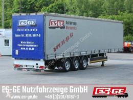Berger 3-Achs-Sattelanhänger semi-trailer used tautliner