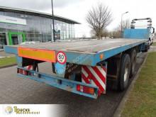 Flatbed semi-trailer S33020A + 2 BPW AXLE