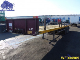 Van Hool Extendable 22 meter Flatbed semi-trailer used flatbed