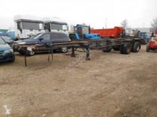 Semi remorque porte containers Van Hool Container trailer 1 ''40 and 2''20
