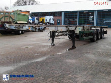 Semi remorque porte containers Fruehauf container trailer 20-30-40 ft