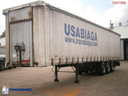 Samro半挂车 Curtain box trailer 88.5 m3 / 36500 kg