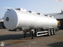 Magyar Chemical tank inox 48 m3 / 3 comp. semi-trailer used chemical tanker