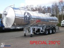 semi remorque Maisonneuve Chemical tank inox 32.8 m3 / 1 comp