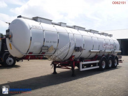 semi reboque Van Hool Chemical tank inox 36.5 m3 / 4 comp.