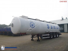 Magyar Chemical tank inox 37.4 m3 / 1 comp semi-trailer used chemical tanker