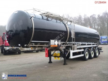 Crossland Bitumen tank inox 33.4 m3 + heating / ADR/GGVS semi-trailer used tanker