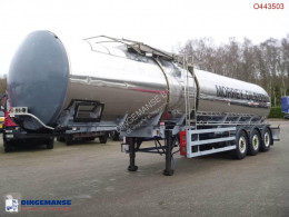 Sættevogn citerne General Trailers Heavy oil tank inox 28.2 m3 / 1 comp