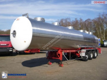 Magyar Chemical tank inox 31 m3 / 1 comp semi-trailer used chemical tanker