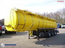 Kässbohrer Food tank inox 30.5 m3 / 4 comp. semi-trailer used food tanker