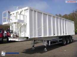 Semi remorque Robuste Kaiser Tipper alu / chssis steel 49 m3 /waterclosed body benne occasion