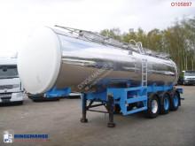 نصف مقطورة Food tank inox 26 m3 / 1 comp صهريج غذائية مستعمل