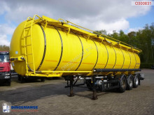 Semi reboque Kässbohrer Food tank inox 30.5 m3 / 4 comp. cisterna alimentar usado