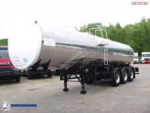 نصف مقطورة Food tank inox 30 m3 / 1 comp صهريج غذائية مستعمل