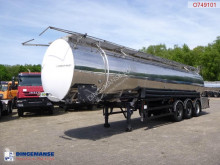 nc Chemical tank inox 35 m3 / 3 comp semi-trailer
