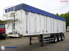 Semi remorque benne General Trailers Tipper trailer alu 48 m3 + tarpaulin