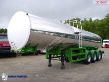 Food tank inox 30 m3 / 1 comp semi-trailer used food tanker