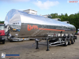 BSLT Chemical tank inox 33.6 m3 / 4 comp semi-trailer used chemical tanker
