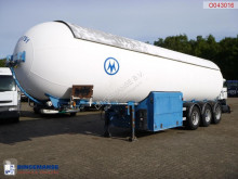 Robine gas tanker semi-trailer Gas tank steel 49 m3 + pump