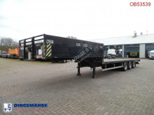Semi remorque SDC semi-lowbed container trailer 10-20-30 ft porte engins occasion