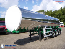 Crossland Food tank inox 30 m3 / 1 comp semi-trailer used food tanker