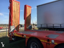Kässbohrer heavy equipment transport semi-trailer PORTE ENGINS EXTENSIBLE DISPO