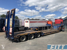 MOL heavy equipment transport semi-trailer EURO dieplader, afneembare nek, hydr kleppen