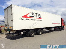 Pacton mono temperature refrigerated semi-trailer gestuurde ISO oplegger