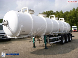 Nc Chemical ACID tank Alu 24.2 m3 / 1 comp semi-trailer used chemical tanker
