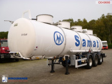 Magyar Chemical ACID tank inox 24.5 m3 / 1 comp semi-trailer used chemical tanker