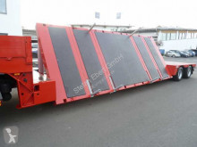 Heavy equipment transport semi-trailer Ebert Universal - Semi - Schräglader /Tieflader