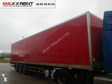 Samro LOCATION FOURGON FIT HAYON semi-trailer used box