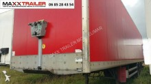 Trailer bakwagen Samro FOURGON STEELBOX 2700MM 2x VANTAUX