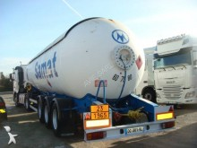 Robine gas tanker semi-trailer