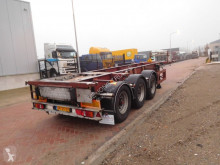 LAG container semi-trailer O-3-39L, Tank chassis, 20/30 FT, BPW