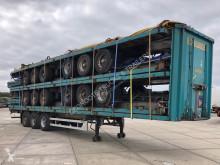 LAG stack: 5 x tautliner semi-trailer