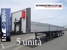 Naczepa platforma burtowa Schwarzmüller semirimorchi cassonati sponde coils nuovi