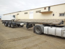 Lecsor CHASIS FRIGORIFICO EJE GIRATORIO semi-trailer used refrigerated