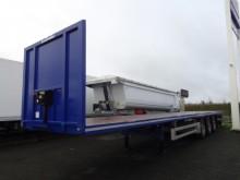 Lecitrailer flatbed semi-trailer Plateau droit 3 essieux , Susp AIR , Pte Contener