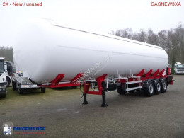 MTD Gas tank steel 57 m3 NEW - BPW - DISC semi-trailer new gas tanker