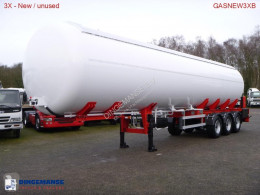Semitrailer MTD Gas tank steel 57 m3 NEW - BPW - DRUM tank gas ny
