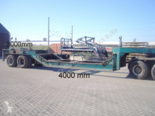 Huttner heavy equipment transport semi-trailer SAnh Tieflader HUTTNER