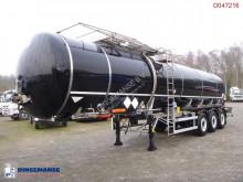 LAG Bitumen tank inox 33.4 m3 / 1 comp semi-trailer used tanker