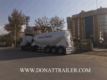 Donat semi-trailer new powder tanker