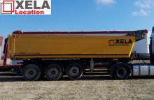 Schmitz Cargobull semi-trailer used construction dump