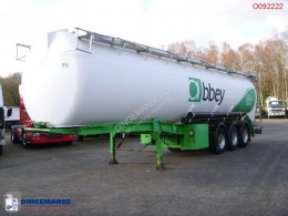 LAG Powder tank alu 58.5 m3 (tipping) semi-trailer