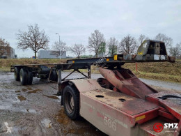Oplegger semi-trailer used container
