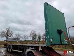 Samro Oplegger semi-trailer used flatbed