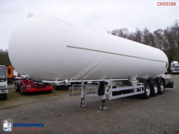 Acerbi Gas tank steel 55 m3 semi-trailer used gas tanker